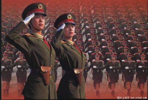 [注意]50年国庆阅兵式上最美丽的风景!军中姐妹