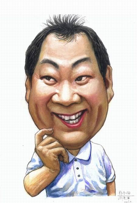 [漫画]中国明星搞笑漫画像~|转帖之王强上护士贴图图片