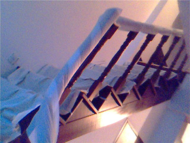 随便的房子 2 地板铺好了 主秀楼梯 轻松装修 爱威海社区