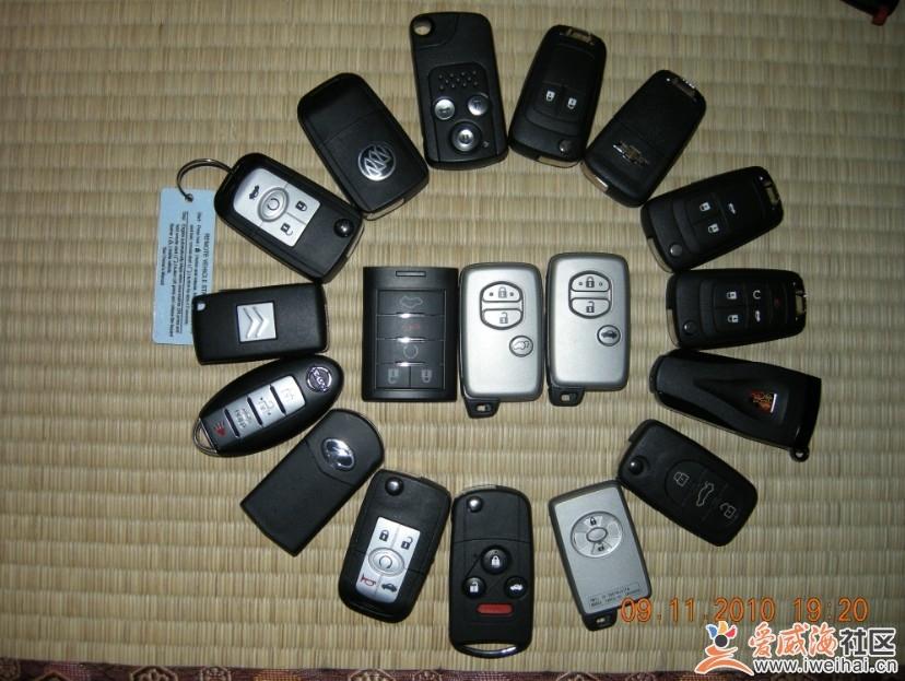免费更换汽车遥控器电池高清图片